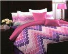 Tangerine Tomatilo Cotton Bedsheet with 2 Pillow Covers