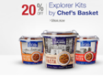 Buy Explorer Meal Kits by Chef's Basket at Flat 20% off