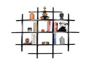 Forzza Tom Lacquered Shelf Brown