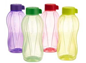 Tupperware Aquasafe Water Bottle Set