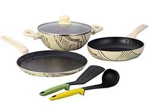 wonderchef picasso cookware set