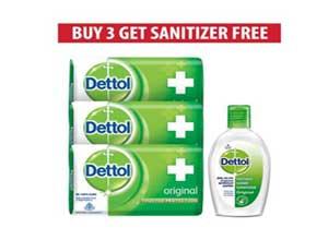Dettol Original Soap pack