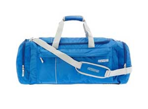 American Tourister Nylon 65 cms Blue Travel Duffle