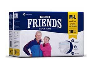 Friends Adult Pullups Medium to Large