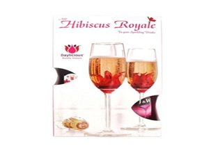 Edible Hibiscus FLower with Sparkling Soft Drink Gift Hamper