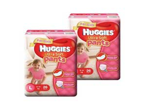 Huggies Ultra Soft Pants Large Size Premium Diapers