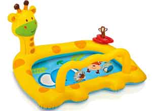 Intex Smiley Inflatable Giraffe Baby Pool