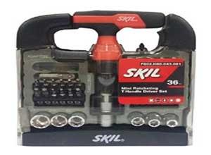 Skil 36 piece Mini T-handle Screw Driver Set