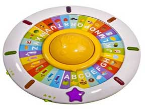 Mee Mee Spinning Abc Game, Multi Color