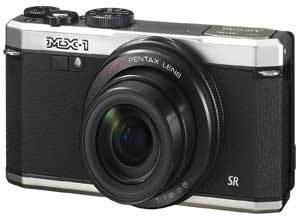 Pentax MX-1 12MP f/1.8mm Point and Shoot Compact Camera with 4x Optical Zoom