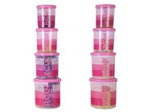 Ratan Plastics Keepfresh Plastic Container Set