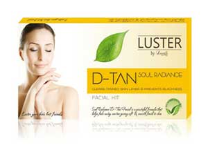 Luster D Tan Soul Radiance Facial kit