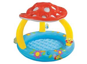 Intex Inflatable Mashroom Pool