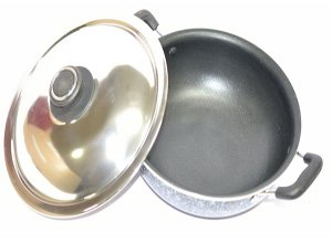 Tosaa Non-Stick Cookware Kadhai with Lid