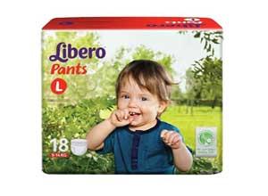 Libero Large Size Diaper Pants 18 Counts