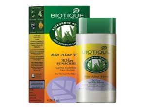 Biotique Bio Aloe Vera Face & Body Sun Lotion