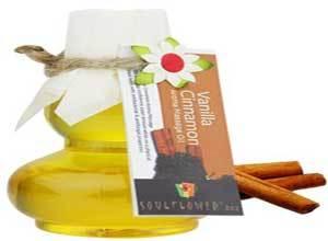Soulflower Vanilla Cinnamon Aroma Massage Oil, 90ml