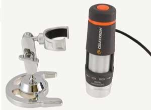 Celestron 44302 Deluxe Handheld Digital Microscope 2MP