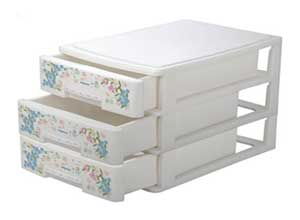 Nayasa Deluxe Tuckins-13 Plastic Storage Drawer
