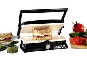 Nova NGS 2455 1500Watt 3 in 1 Grill Sandwich Maker