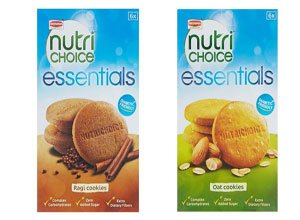 Britannia NutriChoice Essentials Oats + Britannia NutriChoice Essentials Ragi