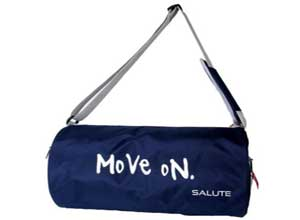 Salute Polyester 11 Ltrs Navy Blue Gym Bag
