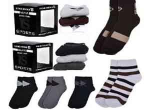Naviya Men's Sweat Removal Socks 50% Off