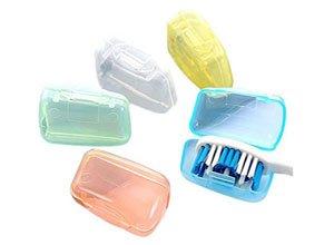 Okayji Toothbrush Cap Head Covers Storage Pack of 5