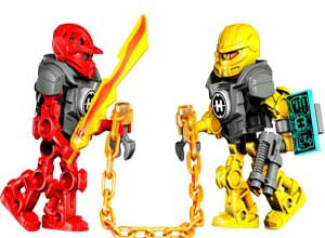 Lego- Hero Factory Splitter Beast Vs. Furno & Evon
