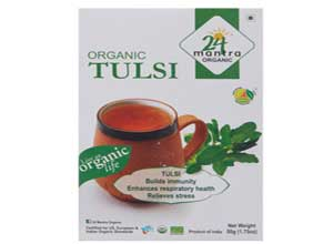 24 Mantra Organic Tulsi Tea, 50g