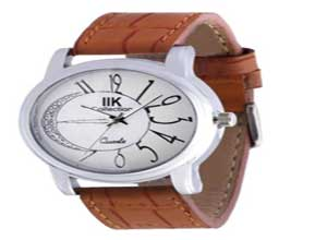 IIK COLLECTION Round shaped Analog Watch