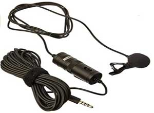 Omnidirectional  Microphone with 20ft Cable