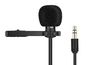 Recording filter microphone