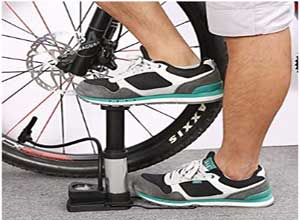 Foot Pump Inflator for Bicycle Car Bike