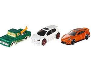 Hot Wheels Mattel 3 Pack
