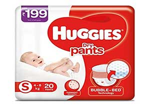 Huggies Dry Pants, Small Size Diapers