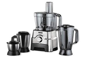 Usha FP 3811 Food Processor Motor with 13 Accessories