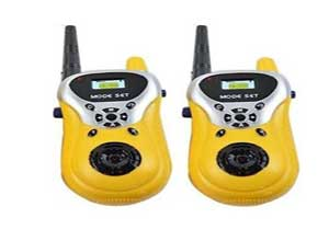 Walkie Talkie with Toys for Kids