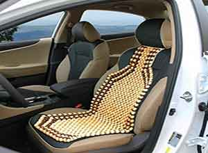Bead seat Wooden Cushion Cover pad