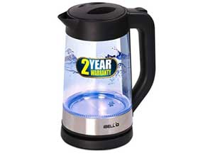 iBELL 1.7 L Electric Glass Kettle with LED Light