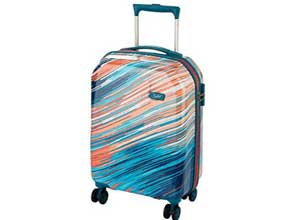 Skybags 55cms Coral Hardsided Cabin Luggage