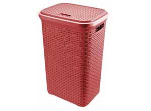 50 L Maroon Laundry Basket