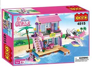 ABS Plastic Dream Beach Villa Building