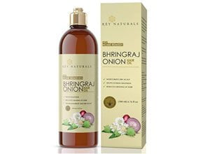 Bhringraj oil with Onion extract For Hair