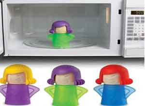 Microwave Angry Mama Steam Cleaner