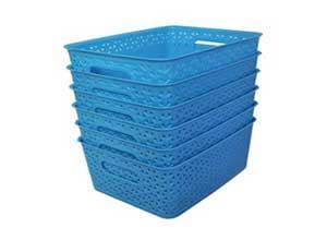 Multi Purpose Use Storage Basket Set of 6