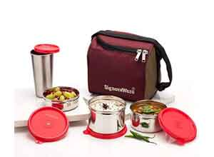 Signoraware Best Steel Box with bag