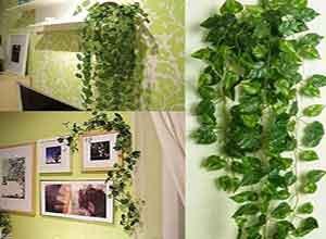 Wall Hanging Artificial Garland Money Creeper