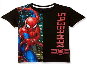 Spiderman By Kidsville Boy's T-Shirt