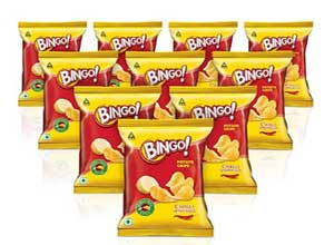 Bingo Original Style Chill Potato Chips Combo